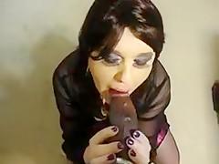Fabulous Amateur Shemale clip with Interracial, POV scenes